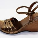 Style & Co Polly Sandals Gold Shoes US 9.5 $49