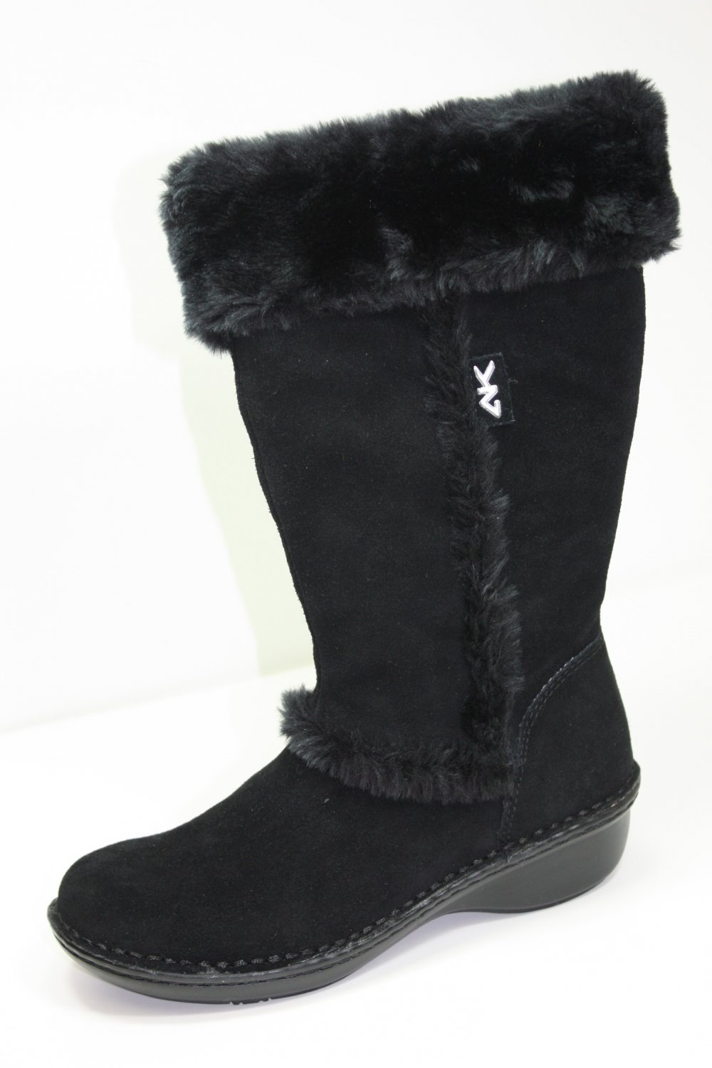 Anne Klein Sport Kanga Boots Black Shoes US 6 $109