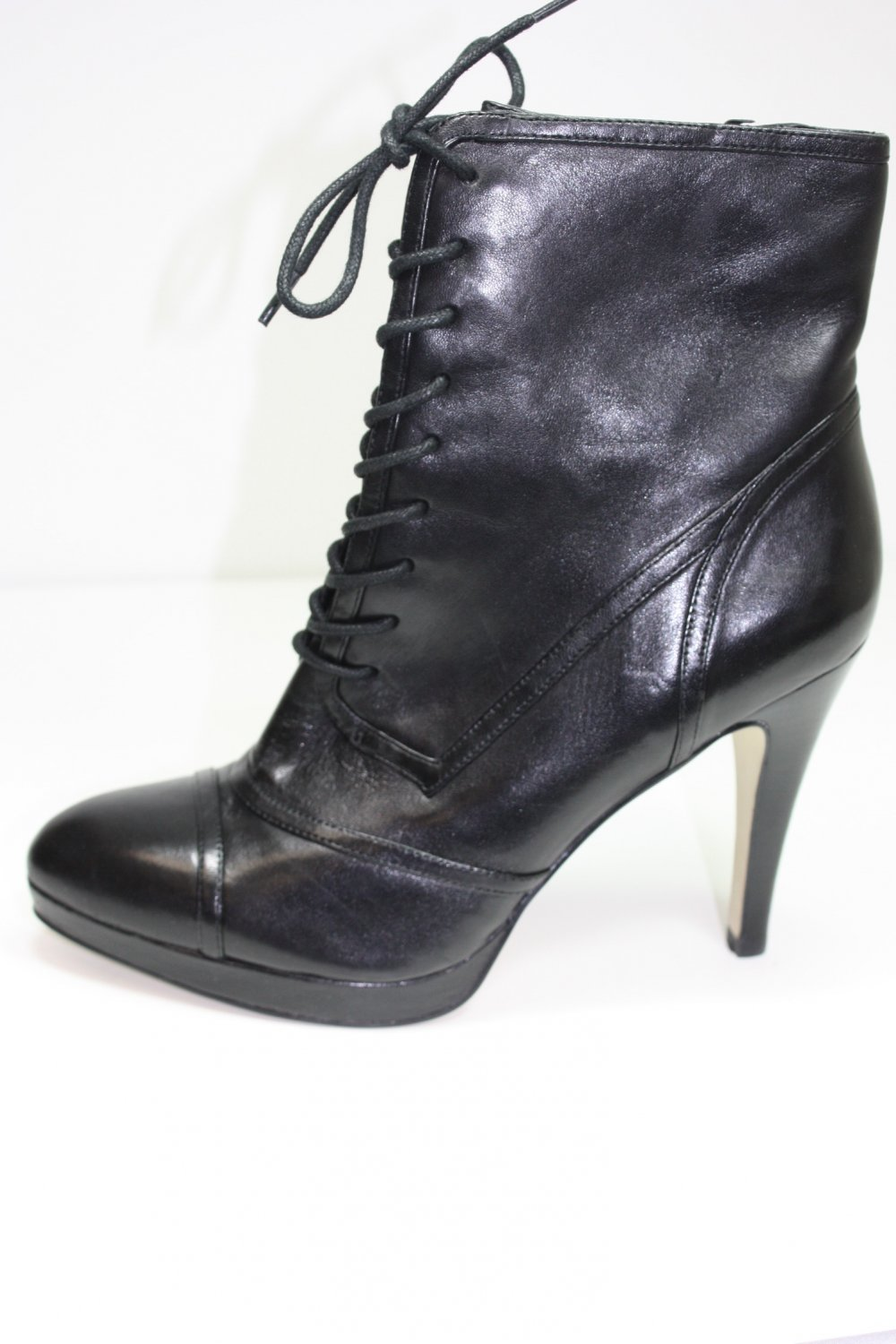 Marc Fisher MFFILIP Ankle Boots Black Shoes US 7.5 $139