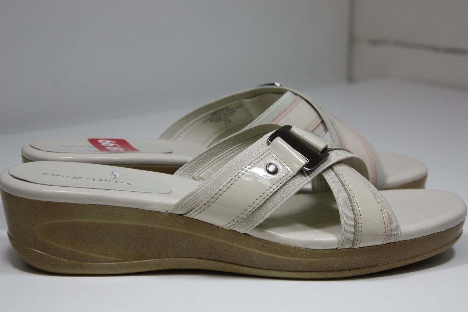 Easy Spirit Infusions Sandals Faded Pink/Cream Shoes US