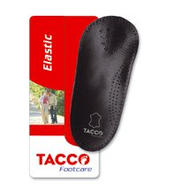 Tacco Arch Support Foot Insoles Leather Top 3/4 Length