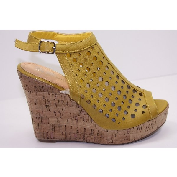 Platforms High Heel Sandals Wedge Open Toe 5~10 & Color