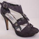 Pumps Platforms High Heel Sandals Open Toe Suede 6~10