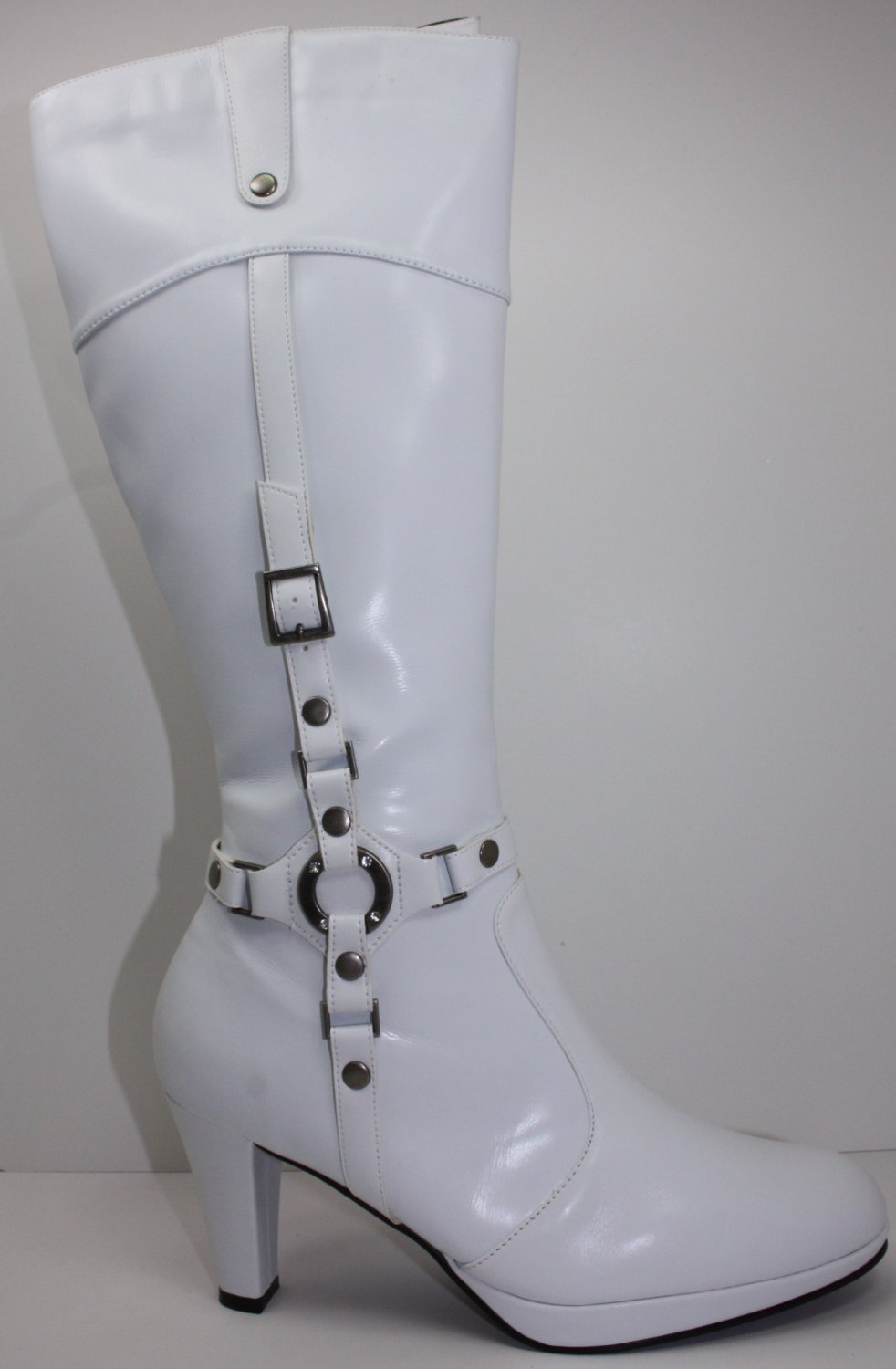 New High Heel Boots With Zipper Platforms Pumps 5~10