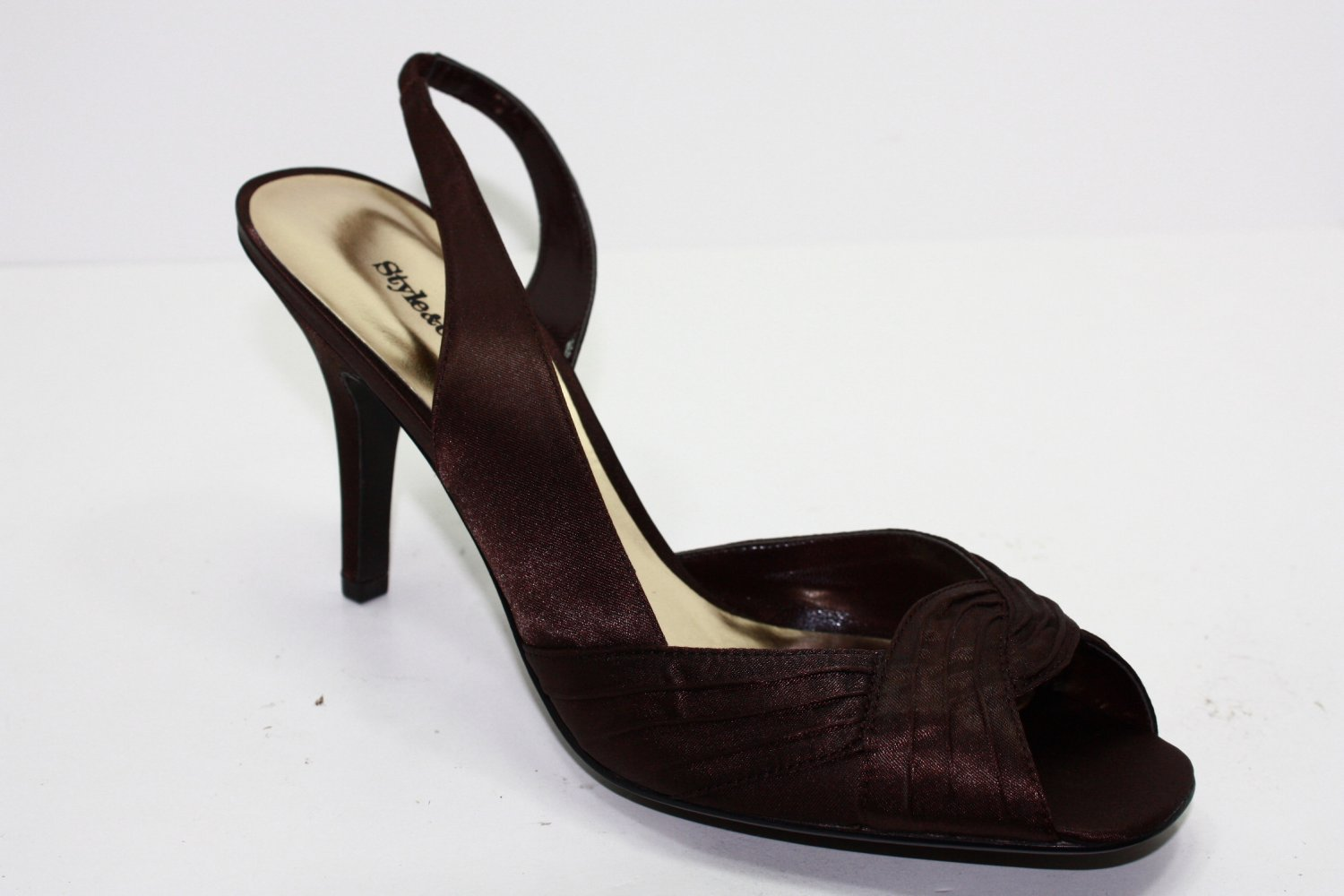 Style & Co CLAYTON SUEDE Sandals COCOA Womens Shoes 8