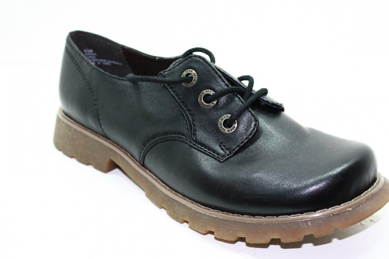 Mia DOMINIC Oxfords BLACK Womens Shoes 6.5