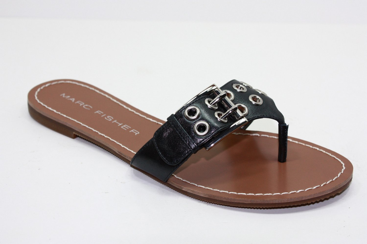 Marc Fisher ABBEY Sandals GRAY Womens Shoes 7.5