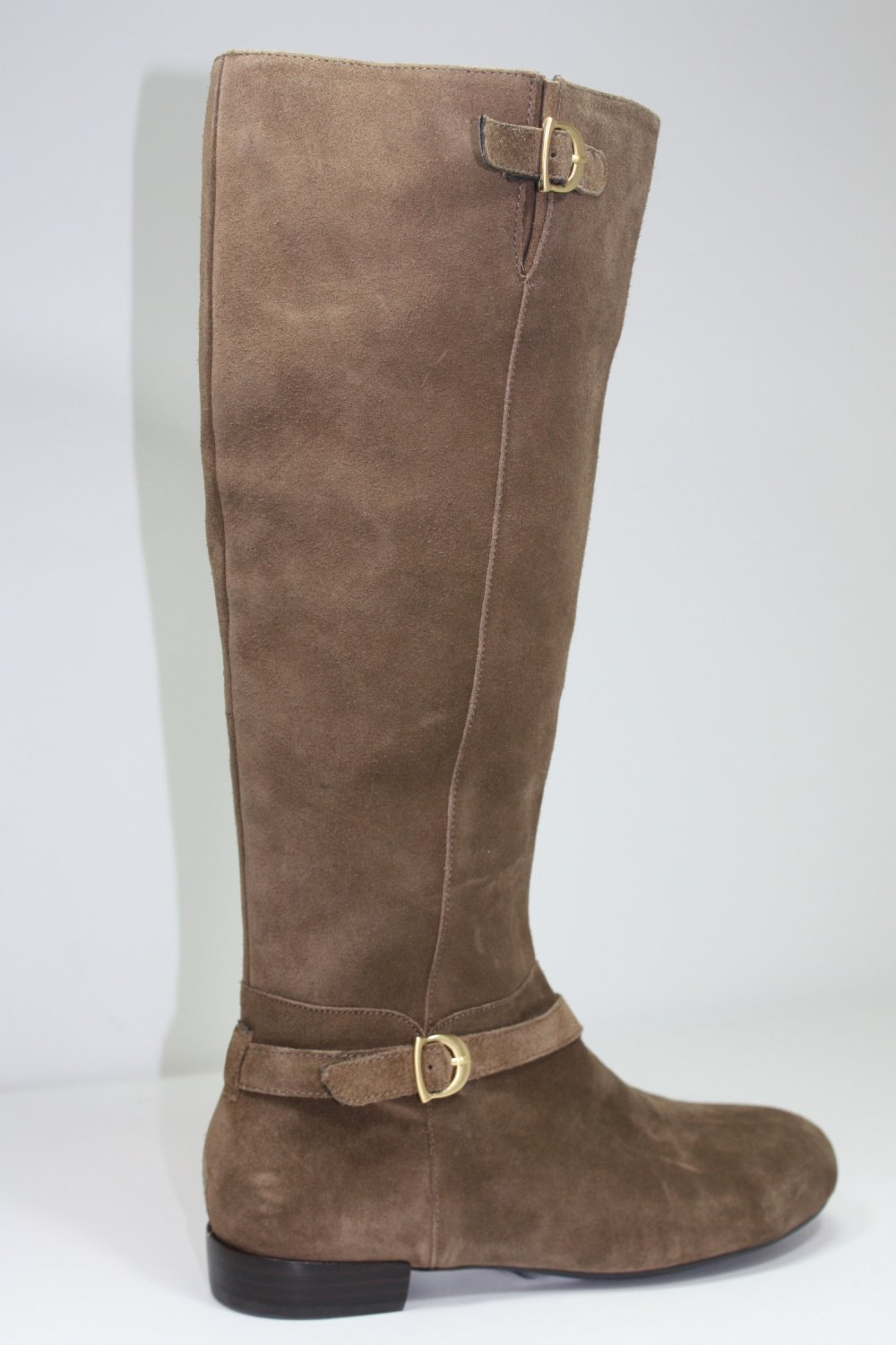 Circa Joan & David HEARTY Boots Suede Shoes US 7.5 $199