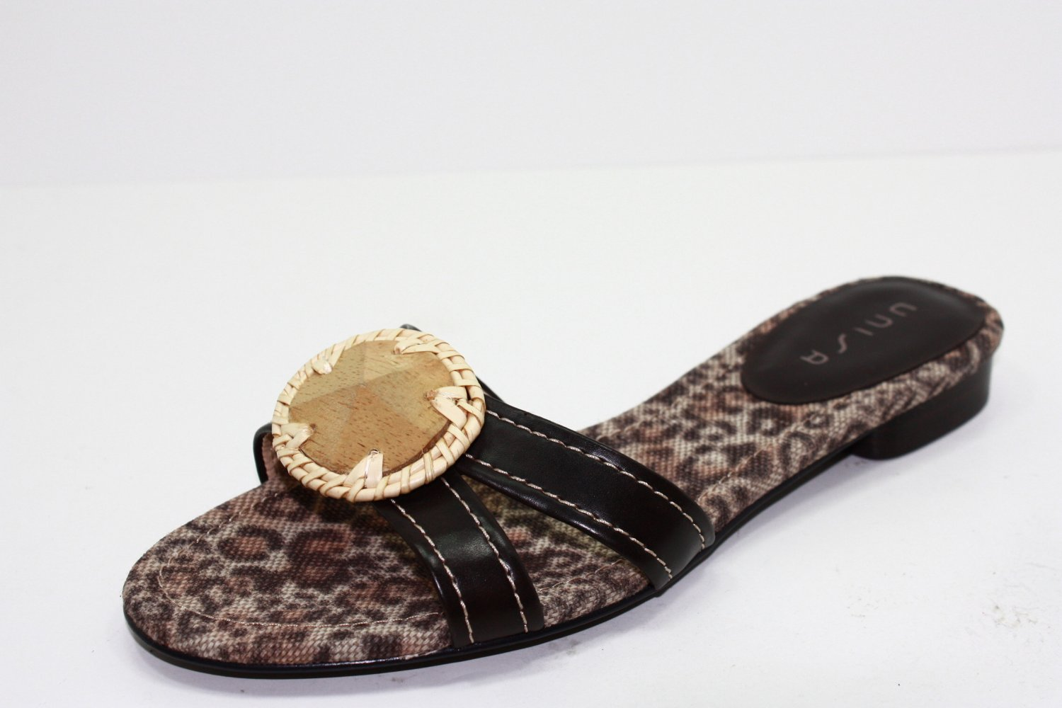 UNISA FISHER  UNZAC2 Sandals Brown Womens Shoes 8