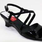 Etienne Aigner TOLAN Sandals BLACK Womens Shoes 6