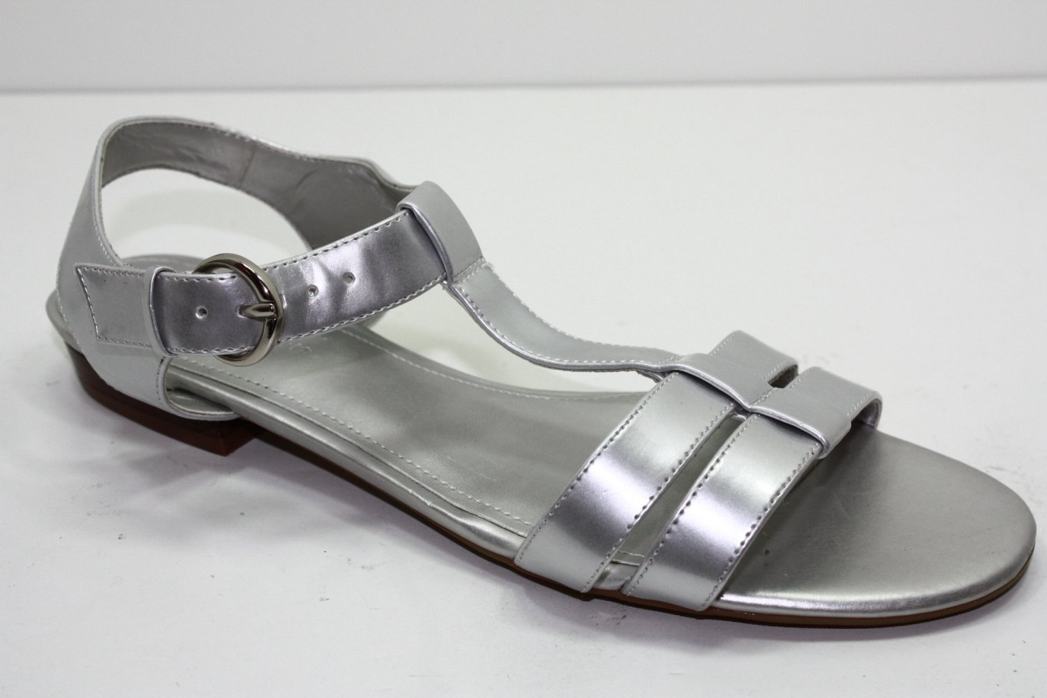 Easy Spirit BELLA Sandals SILVER Womens Shoes 9