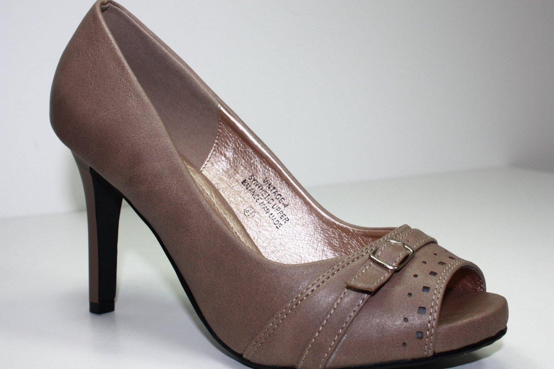 New Classic Hot Pumps High Heels Open Toe Shoes 5-10