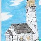 Cape Blanco Lighthouse ACEO  Oregon  COA