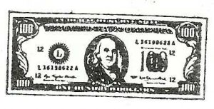 Coloring Dollar Bill Mhandc Com For