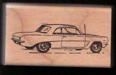 1962-62 Pontiac Tempest Car Rubber Stamp