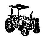 Massey Ferguson Tractor rubber stamp