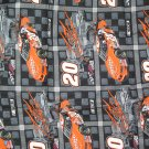 Tony Stewart #20 Nascar Fabric 2002 Fat Quarter