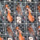 Tony Stewart #20 Nascar Fabric 2002 Fat Quarter