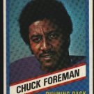 1976 Wonder Bread Football card #2 Chuck Foreman Vikings