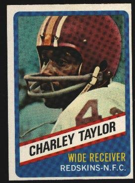 1976 Wonder Bread Football card #5 Charley Taylor Redskins