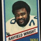 1976 Wonder Bread Football card #8 Rayfield Wright Cowboys