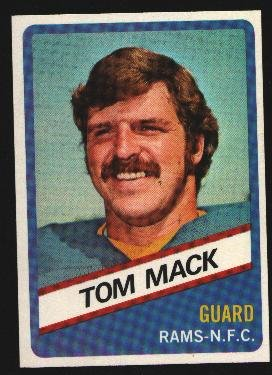 1976 Wonder Bread Football card #10 Tom Mack