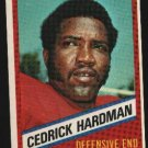 1976 Wonder Bread Football card #13 Cedrick Hardman 49ers