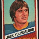 1976 Wonder Bread Football card #14 Jack Youngblood Rams