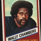 1976 Wonder Bread Football card #15 Wally Chambers BEARS