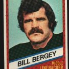 1976 Wonder Bread Football card #17 Bill Bergey Eagles