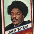 1976 Wonder Bread Football card #20 Jack Tatum Raiders