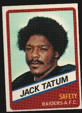 1976 Wonder Bread Football card #20 Jack Tatum Raiders