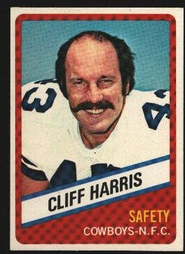1976 Wonder Bread Football card #21 Cliff Harris Cowboys