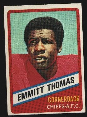 1976 Wonder Bread Football card #22 Emmitt Thomas Chiefs