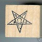 OES Eastern Star Masonic rubber stamp MED