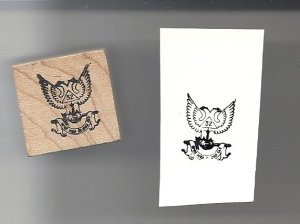 Mason 32rd Degree Rubber Stamp Masonic Made In USA