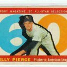 1960 Topps Baseball Card AS Billy Pierce #571