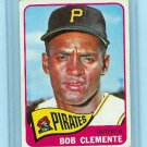 1965 Topps Baseball # 160 Bob Clemente Card Pirates