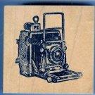 Crown Graphic Graflex Top Range Camera Rubber Stamp 2 x 3