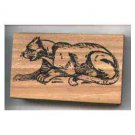 PUMA cat Rubber stamp Cougar Mountain Lion Panther