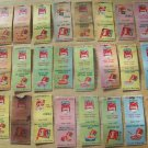 29 Hunt's Tomato Sauce Matchbook covers w/ Recipes OlD