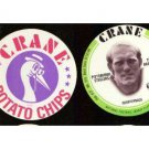 1976 Crane Football Disc Card Terry Bradshaw Steelers