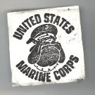 United States BullDog head Marine Corps rubber stamp bull Dog logo