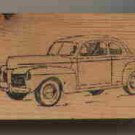 1948 Mercury Car auto automobile vintage rubber stamp