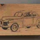 1948 Mercury Car auto automobile vintage rubber stamp