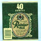 Rainier Ale Label 40oz.
