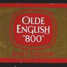 "Olde English ""800"" Malt Liquor Label 32oz"
