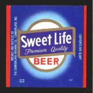 SWEET LIFE Beer Label 32oz.