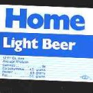 HOME Light Beer Label 12oz.