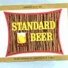 STANDARD Beer Label120z.